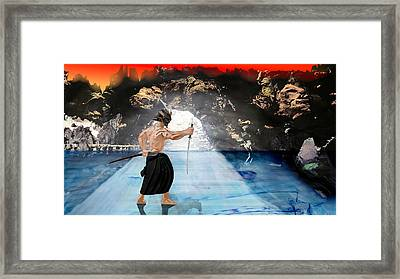 Samuraiprotector Framed Print by Marcus Shein