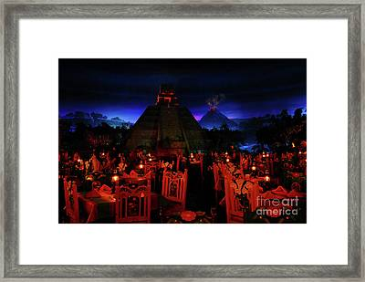 San Angel Inn Mexico Framed Print by David Lee Thompson