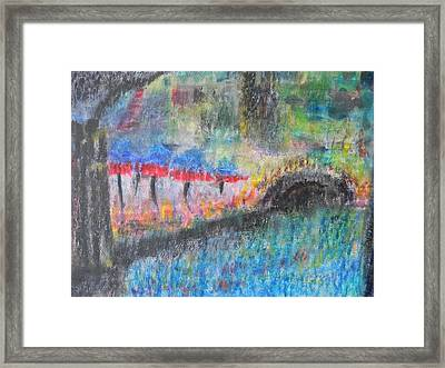 San Antonio By The River I Framed Print