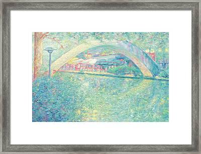 San Antonio Riverwalk Framed Print by Felipe Adan Lerma