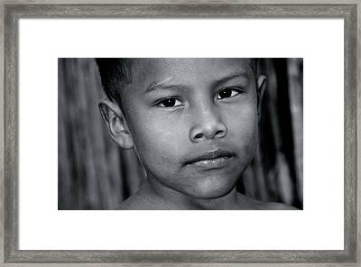 San Blas Islands Panama 163 Framed Print by Per Lidvall