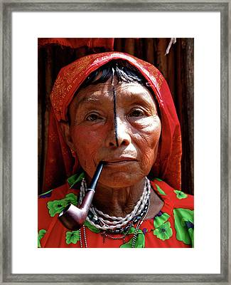 San Blas Islands Panama 96 Framed Print by Per Lidvall