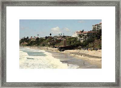 San Clemente Painted 4 Framed Print