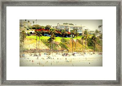 San Clemente Painted 5 Framed Print