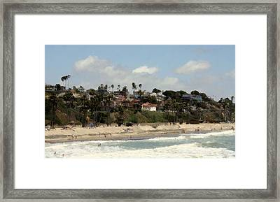 San Clemente Painted 6 Framed Print