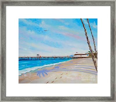 San Clemente Walk Framed Print