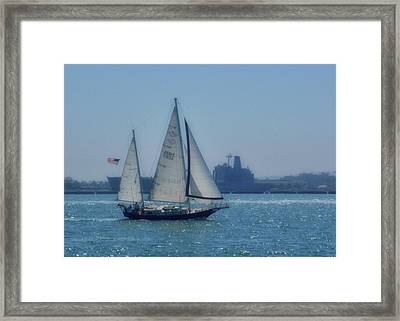 San Diego Bay Framed Print by JAMART Photography