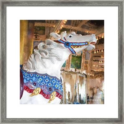 San Diego Carousel Framed Print