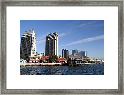 Framed Print featuring the photograph San Diego by Christopher Woods