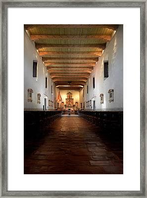 Framed Print featuring the photograph San Diego De Alcala by Christine Till