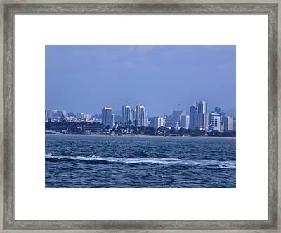San Diego Framed Print by Guillermo Mason