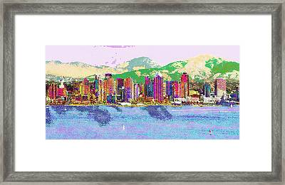 San Diego Framed Print by Jeff Gibford