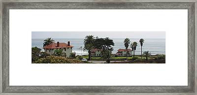San Diego Pt Loma Lighthouse Framed Print by Jan Cipolla