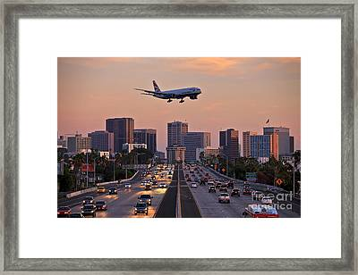 San Diego Rush Hour  Framed Print