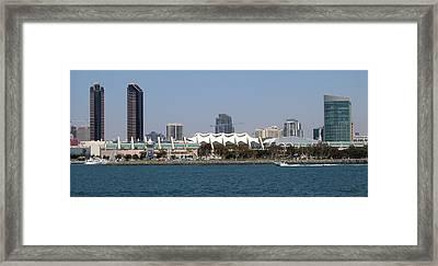 San Diego Skyline 4 Framed Print by Joseph R Luciano