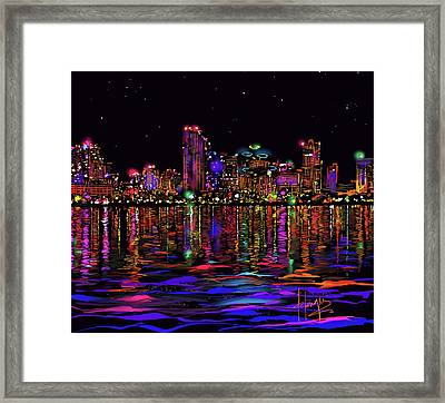 San Diego Stars Framed Print