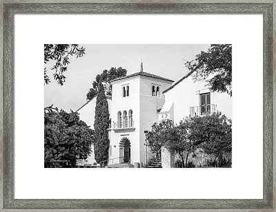 San Diego State University Communications Framed Print by University Icons