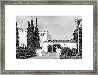 San Diego State University Exercise And Nutritional Sciences Framed Print by University Icons