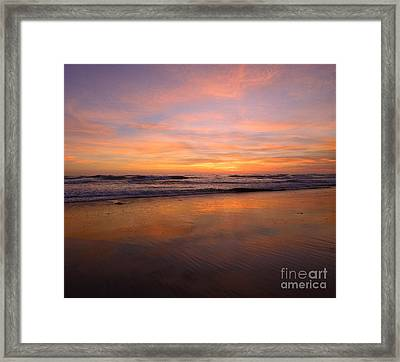 Cardiff Colors Framed Print