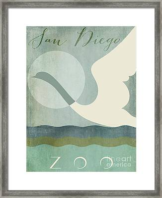 San Diego Zoo  Framed Print by Mindy Sommers
