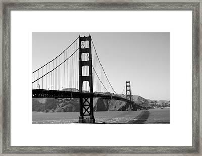 San Fran Architectural Gem Framed Print by Sonja Anderson
