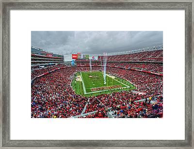 San Francisco 49ers Levi's Stadium Framed Print