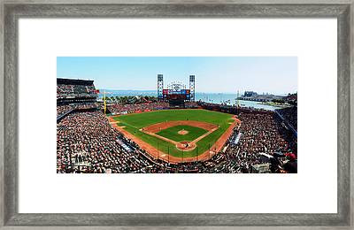 San Francisco Ballpark Framed Print