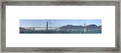 San Francisco Bay Framed Print by Gary Lobdell