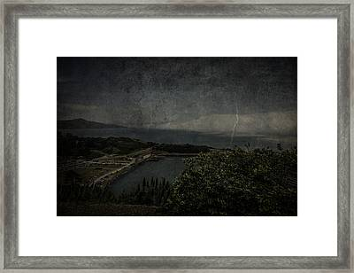 Framed Print featuring the photograph San Francisco Bay by Ryan Photography