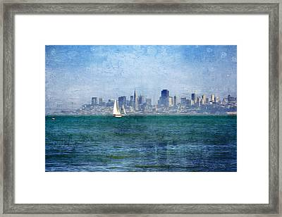 San Francisco Bay Framed Print by Serena King