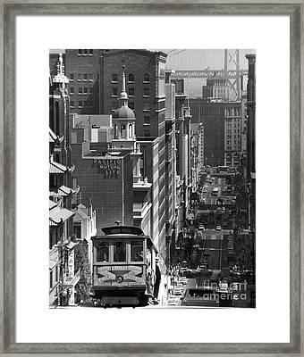 San Francisco, C1950 Framed Print by Granger