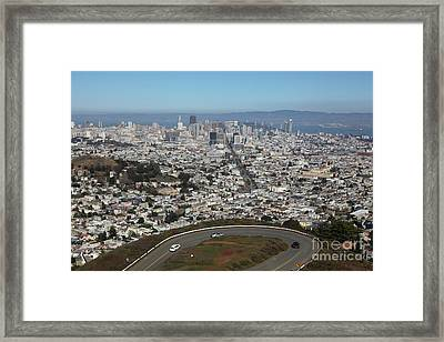 San Francisco California From Twin Peaks 5d28034 Framed Print