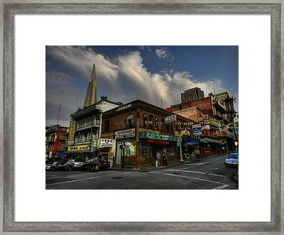 San Francisco - Chinatown 002 Framed Print by Lance Vaughn