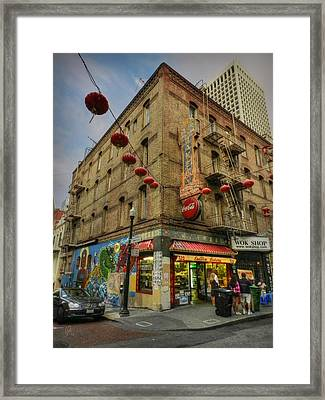 San Francisco - Chinatown 006 Framed Print by Lance Vaughn