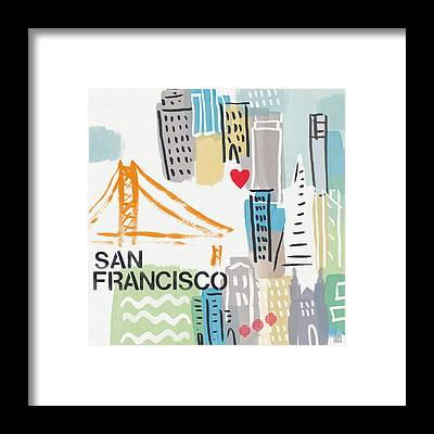 San Framed Prints