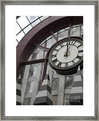 San Francisco Crocker Galleria - 5d17908 Framed Print