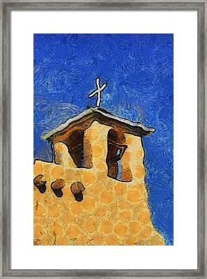 San Francisco De Asis Church In Ranchos De Taos Framed Print by Mitch Tillison