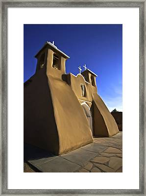 San Francisco De Asis Church  Framed Print