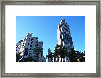 San Francisco Embarcadero Center Framed Print