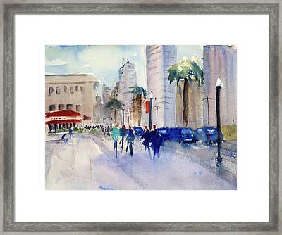 San Francisco Embarcadero1 Framed Print