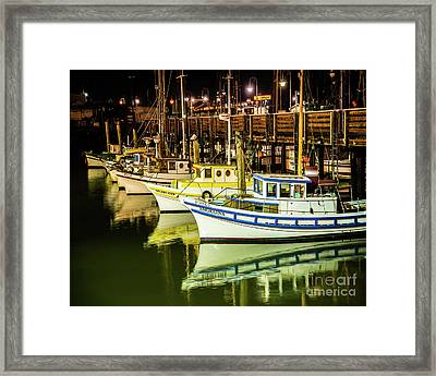 San Francisco Fisherman's Wharf Framed Print