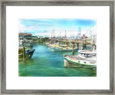 San Francisco Fishing Boats Framed Print