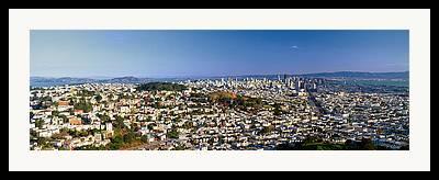 San Francisco Civic Center Framed Prints