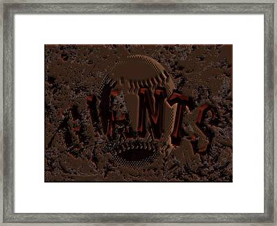 San Francisco Giants 6b Framed Print by Brian Reaves