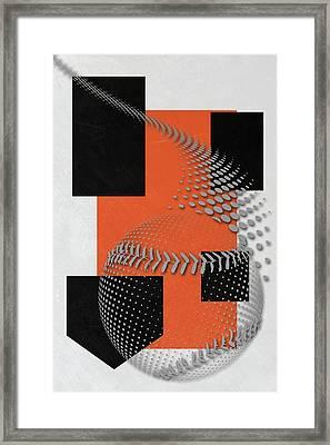 San Francisco Giants Art Framed Print