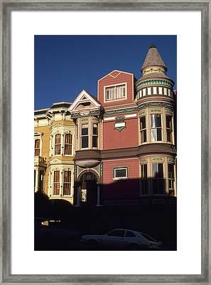 San Francisco Haight Ashbury - Photo Art Framed Print