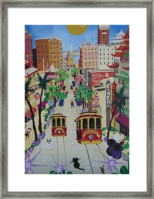 San Francisco Framed Print by Herbert Hofer