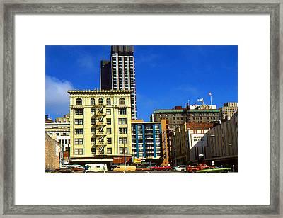 San Francisco Hotels - Photo Art Framed Print by Art America Online Gallery