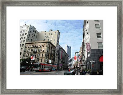 San Francisco - Jessie Street View Framed Print