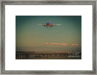 San Francisco Landing Framed Print